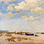 часть 2 -- European art Европейская живопись - Edward Seago On the Beach Great Yarmouth 12254 2426