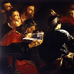часть 2 -- European art Европейская живопись - Giovanni Serodine 1594 or Rome 1600 Rome 1630 Jesus among the Doctors 17807 203