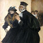 часть 2 -- European art Европейская живопись - Emile THYSEBAERT The lawyer 78959 617