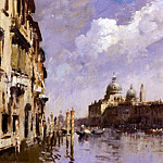 часть 2 -- European art Европейская живопись - Edward Seago The Grand Canal Venice 17782 172