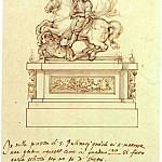часть 2 -- European art Европейская живопись - GIOVAN BATTISTA NALDINI Design for an Equestrian Statue 11357 172