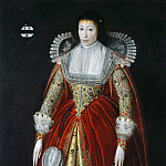 часть 2 -- European art Европейская живопись - English School c 1620 Elizabeth Lady Style of Wateringbury i 32748 321