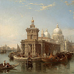 часть 2 -- European art Европейская живопись - Edward Pritchett The Church of the Salute Venice 99779 20