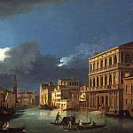 часть 2 -- European art Европейская живопись - Giuseppe Bernardino Bison View of the Grand Canal by Moonlight 16797 203