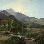 часть 2 -- European art Европейская живопись - Henry John Boddington On the Hills North Wales
