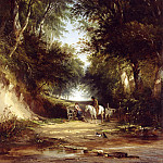 часть 2 -- European art Европейская живопись - Henry John Boddington A Path Through the Woods