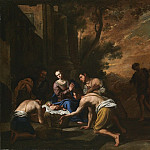 часть 2 -- European art Европейская живопись - Domenico Gargiulo dit Micco Spadaro Adoration of the Shepherds 27778 203