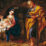 часть 2 -- European art Европейская живопись - Domenico Piola The Adoration of the Shepherds 16729 203