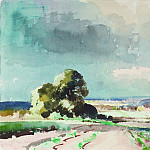 часть 2 -- European art Европейская живопись - Edward Seago Landscape near Summerton Norfolk 30204 20