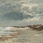 часть 2 -- European art Европейская живопись - Edward Seago Gathering storm Suffolk Coast 30203 20