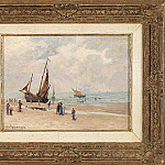 часть 2 -- European art Европейская живопись - Emile Berchmans At the Beach 37496 121