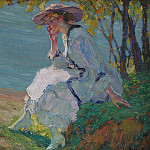 Edward Cucuel Sommertraumerei, Edward William Cooke
