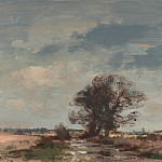 часть 2 -- European art Европейская живопись - Edward Seago The Marsh Loke After rain 30210 20