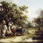 часть 2 -- European art Европейская живопись - George Morland The Bell Inn Kilburn 12175 2426