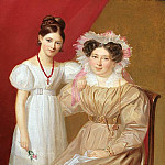 часть 2 -- European art Европейская живопись - Firmin Massot Portrait of a Mother and Daughter 32014 184