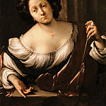 часть 2 -- European art Европейская живопись - Francesco Cairo Saint Christina 16217 203
