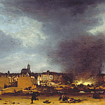 часть 2 -- European art Европейская живопись - Egbert van der Poel A View of Delft with the Explosion of 1654 27348 276