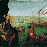 часть 2 -- European art Европейская живопись - Domenico Cresti called Domenico Passignano The Embarkation of Maria de Medici at Livorno 16725 203