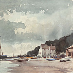 часть 2 -- European art Европейская живопись - Edward Seago Half Tide Pin Mill 28585 20