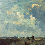 часть 2 -- European art Европейская живопись - Edward Seago The Marsh Gate 28597 20