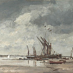 часть 2 -- European art Европейская живопись - Edward Seago Thames barges at Pin Mill 30208 20