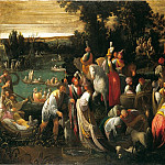 часть 2 -- European art Европейская живопись - Giovanni Andrea Donducci called Il Mastelletta FГЄte by a Riverbank 16888 203