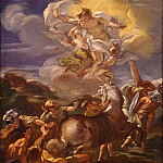 часть 2 -- European art Европейская живопись - Giovanni Battista Gaulli called Il Baciccio The Conversion of Saint Paul