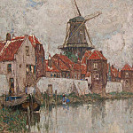 часть 2 -- European art Европейская живопись - Henri CASSIERS View of Holland 122406 617