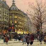 часть 2 -- European art Европейская живопись - Eugene Galien Laloue Les Grands Boulevards Paris 12046 2426