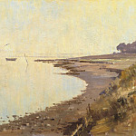 часть 2 -- European art Европейская живопись - Edward Seago September morning on the Orwell 28589 20