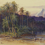 часть 2 -- European art Европейская живопись - Edward Lear An Arab Encampment in Wadi Feisan Egypt 32992 3606