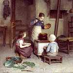 Edouard Frere The Young Cook , Edouard Frere