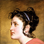 часть 2 -- European art Европейская живопись - FRIEDRICH VON AMERLING Portrait of a young Girl