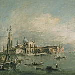 Francesco Guardi A view of the Bacino di San Marco with San Giorgio Maggiore and the Punta della Giudecca 28318 20, Francesco Guardi