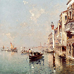 часть 2 -- European art Европейская живопись - Franz Richard Unterberger The Grand Canal Venice 12288 2426