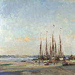 часть 2 -- European art Европейская живопись - Edward Seago The Butt and Oyster Pin Mill 100159 20