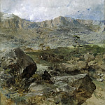 Gran paisaje (), Francisco Domingo Marques