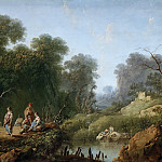 Pillement, Jean -- Paisaje, Part 5 Prado Museum