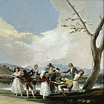 La gallina ciega, Francisco Jose De Goya y Lucientes