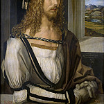 Masterpieces of the Prado Museum - Durer, Albrecht - Self portrait
