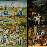 Masterpieces of the Prado Museum - Bosch, Hieronymus - The Garden of Earthly Delights