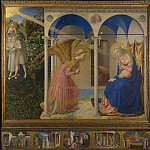 Masterpieces of the Prado Museum - Angelico, Fra - The Annunciation