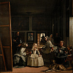 Masterpieces of the Prado Museum - Velazquez, Diego Rodriguez de Silva y - The Family of Felipe IV, or Las Meninas