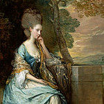 Портрет Анны, графини Честерфилд (220х156 см) 1778, Thomas Gainsborough