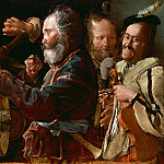 Georges de La Tour - Rixe de musiciens, 1625-1630, J. Paul Getty Museum