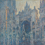 Портал руанского собора в утреннем свете (100х65 см) 1894, Claude Oscar Monet