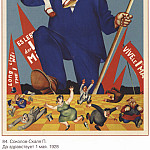 Soviet Posters - Long live May 1. (Sokolov-Scalia P.)