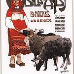 Soviet Posters - The first All-Russian exhibition and congress on sheep breeding ... (Komarov A.)