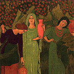 часть 4 -- European art Европейская живопись - Paul SERUSIER Lattente Г  la fontaine 40654 1146