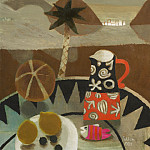 часть 4 -- European art Европейская живопись - Mary Fedden Charlottes jug [Still life in Spain] 98240 20